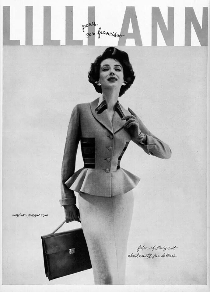Suit by Lilli Ann, 1950s
