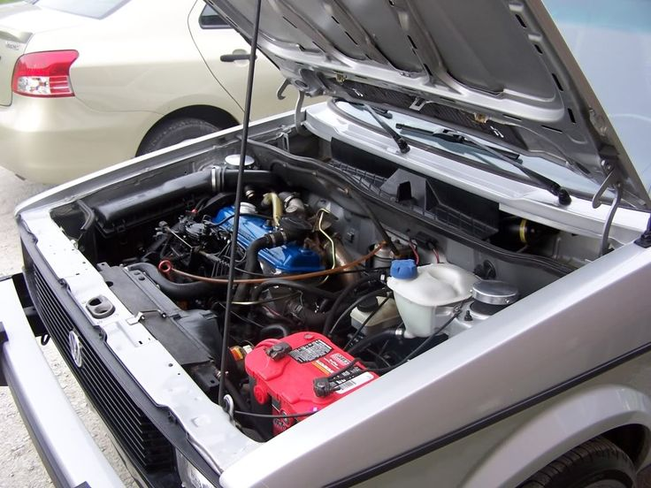 AAZ with turbochargers Garrett T3