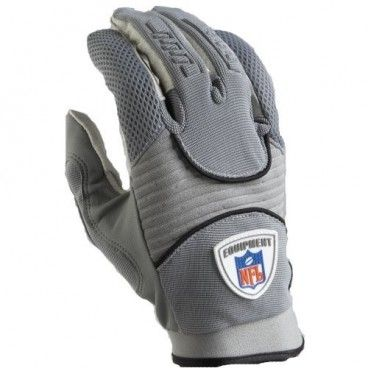 Guantes Receptor Reebok NFL Equipment DZ III - Gris - NBA Tienda NFL
