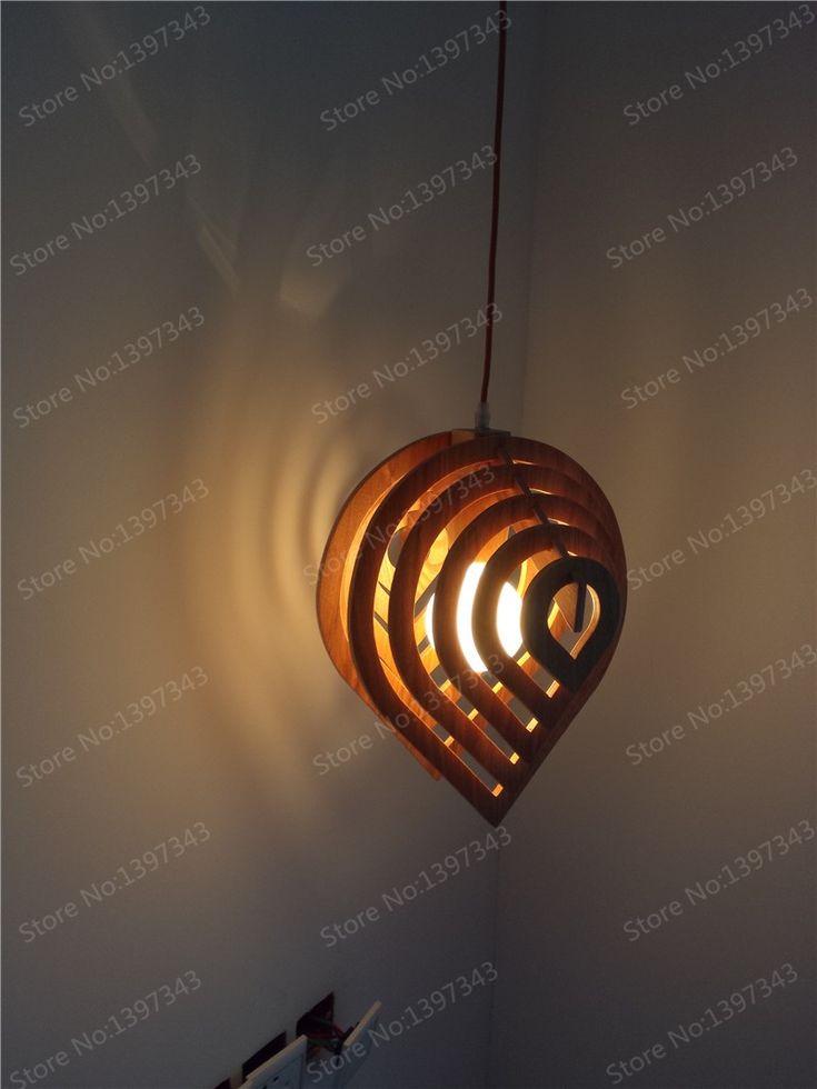 Дождь падение из светодиодов деревянный подвесной деревенский светильники американские современный дизайн кухни для кафе / ресторан / номер PLL 712 купить на AliExpress