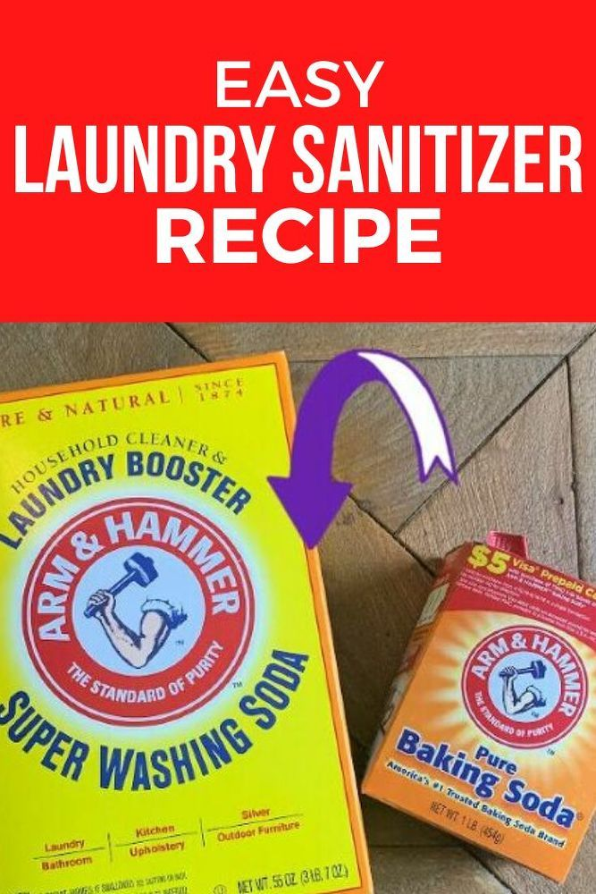 How To Make Laundry Sanitizer For Cheap In 2020 Laundry