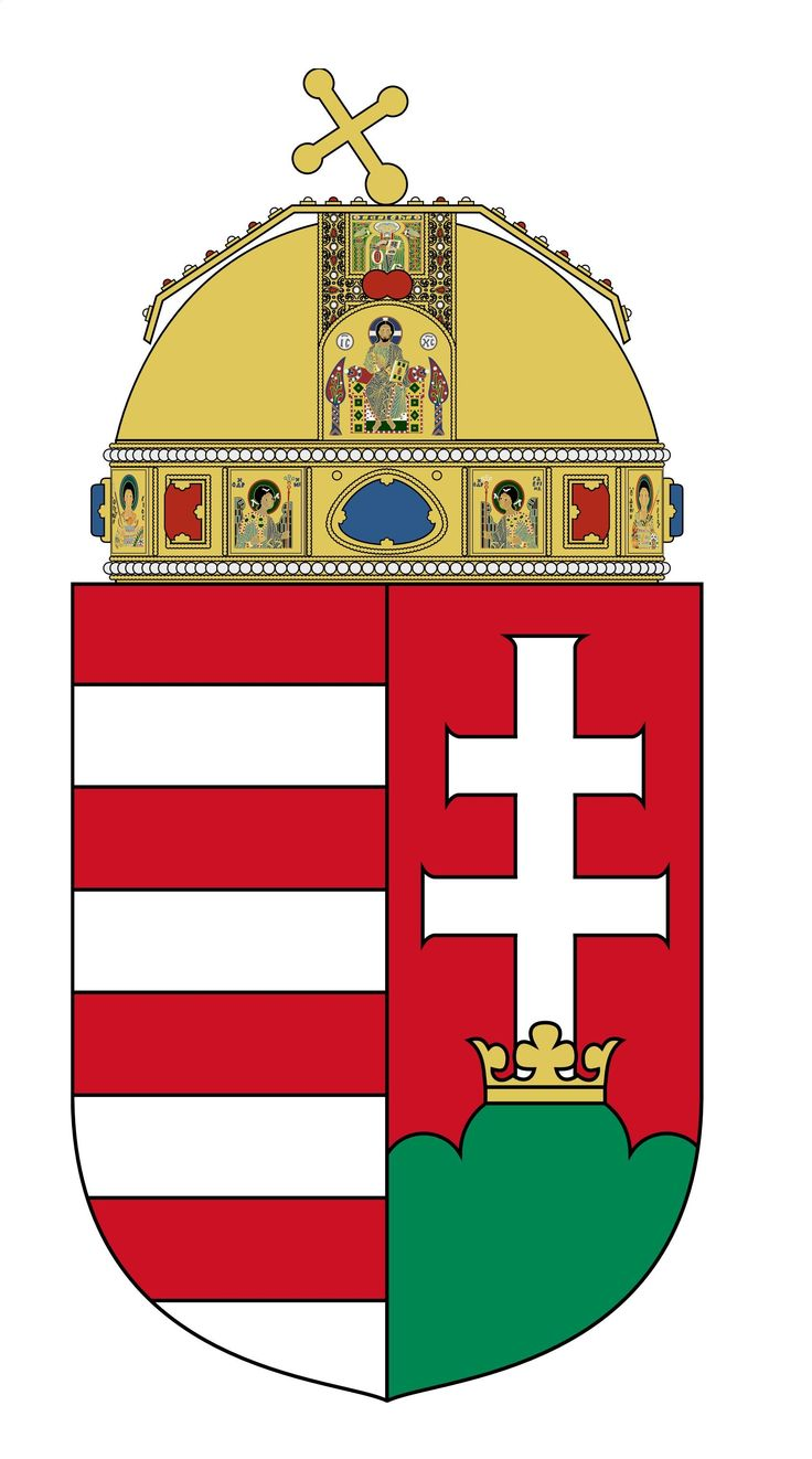 Coat of Arms of Hungary  [EPS-PDF]