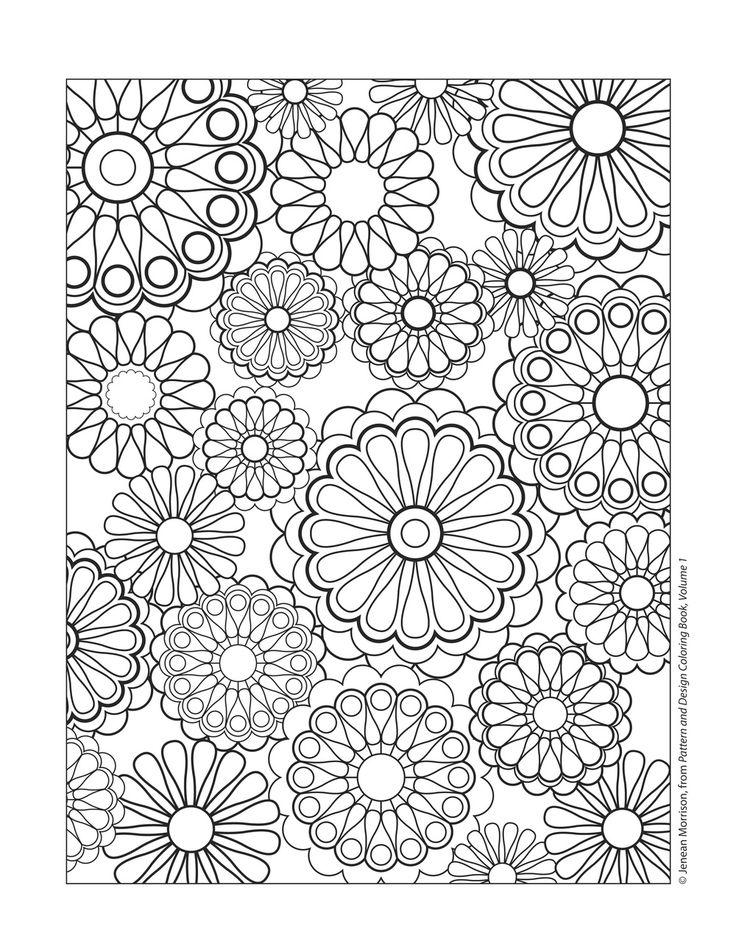 design coloring pages for kids