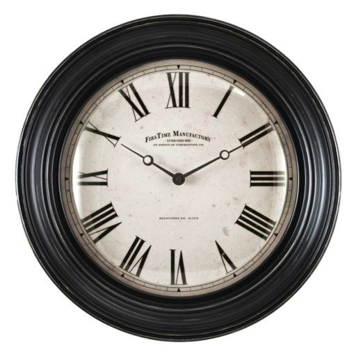 Firstime Bellaire Wall Clock Clocks Pinterest Clock