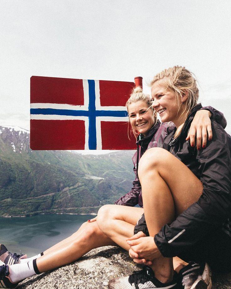 "Andrine Stolsmo Hegerberg on Instagram: ""🇳🇴 📸: @ivarwj / Globus Media"""