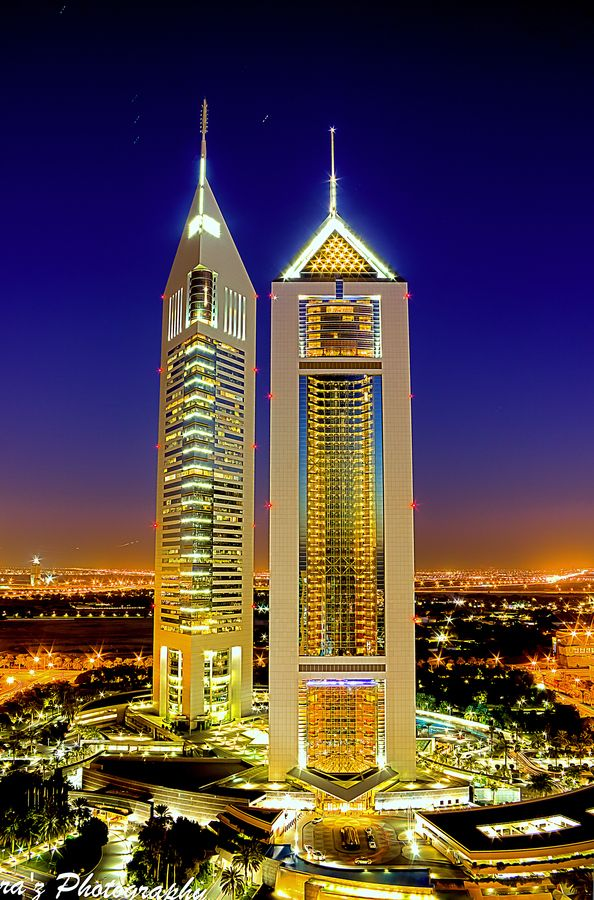 Emirates Tower Dubai- #LadyLuxuryDesigns