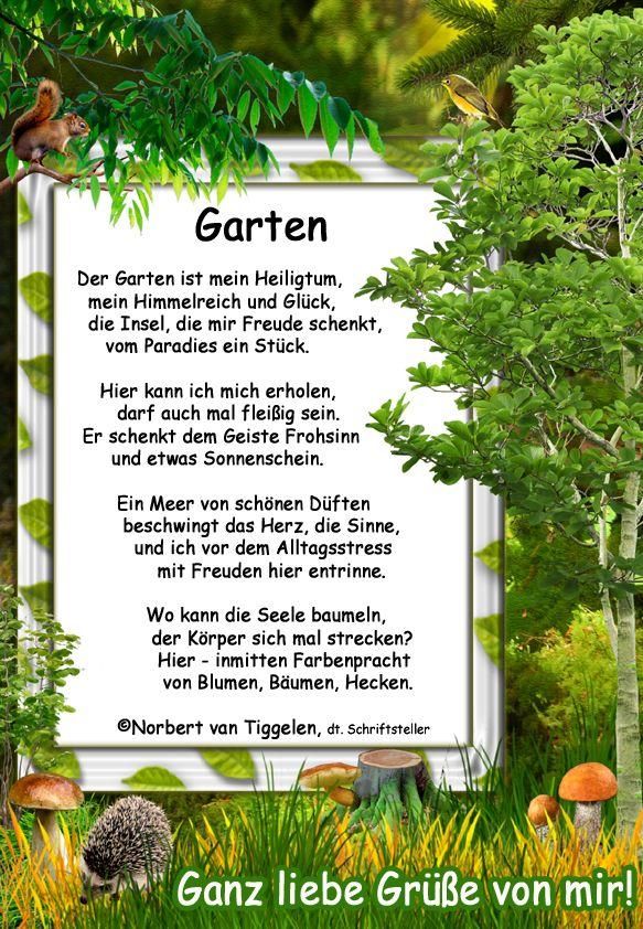 Garten Glg Gedichte Und Spruche Nachdenkliche Spruche Gedichte