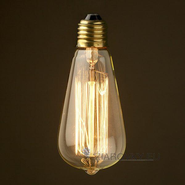 EDISON žiarovka – TEARDROP – E27, 40W, 120lm