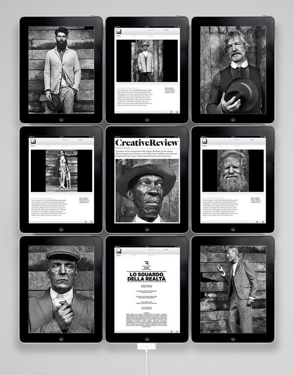 #Creative Review iPad Edition on the Adweek Talent Gallery