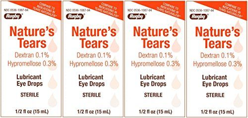 #vision Size: 15 ml per Bottle. Designed to more closely mimic your #natural #tears, For moderate or severe dry eye. Inactive Ingredients: Benzalkonium Chloride, ...