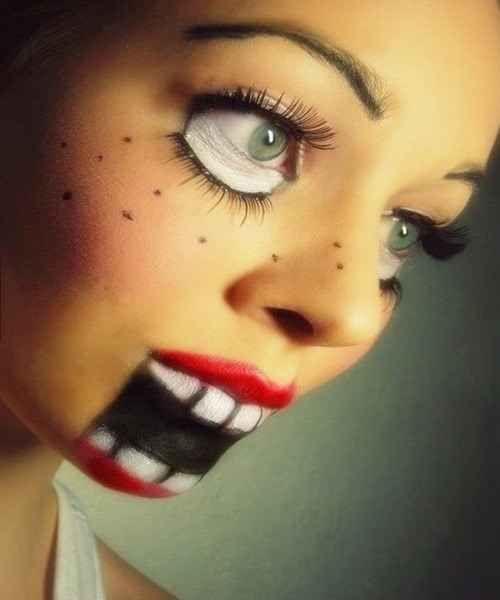 33 maquillages flippants pour Halloween