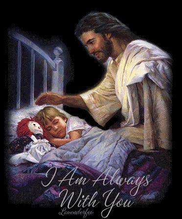 jesus with children photo: Jesus Christ I am always with you Christus animated gif 29044720-61454207.gif