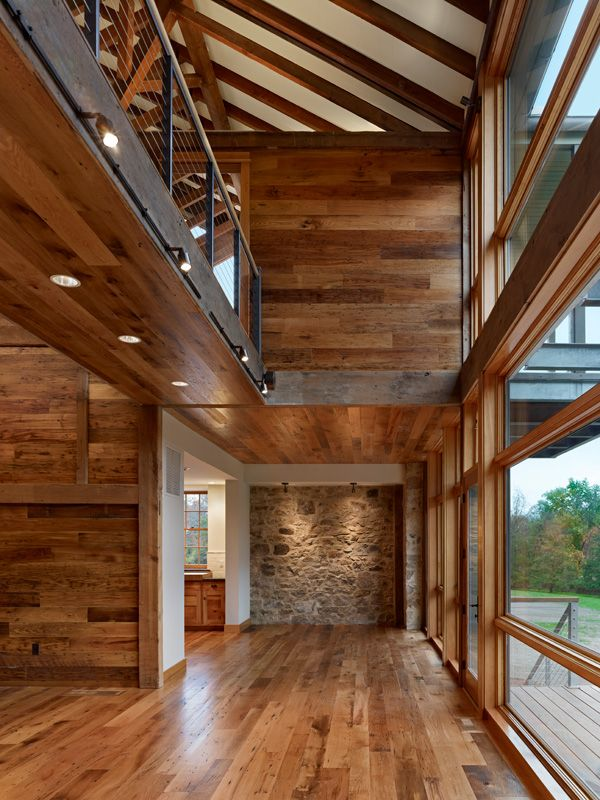 Barn Renovation   HERITAGE Reclaimed Oak WORMWOOD Chestnut