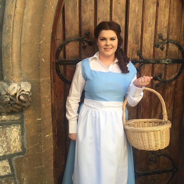 Die Schöne und das Biest Belle Kostüm selber machen   Kostüm Idee zu Karneval, Halloween & Fasching