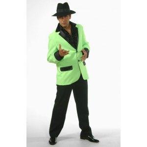 Déguisement veste deluxe verte homme, Déguisement rock'n roll, danse, années 60's, fêtes, Magic by Freddy's.