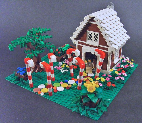 50 Best LEGO: Gingerbread Houses Images On Pinterest