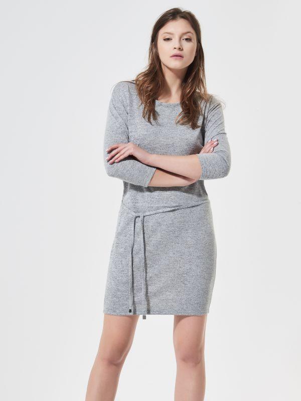 HOUSE / Dzianinowa sukienka  PW546-09M