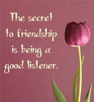 Image result for a good listener quotes