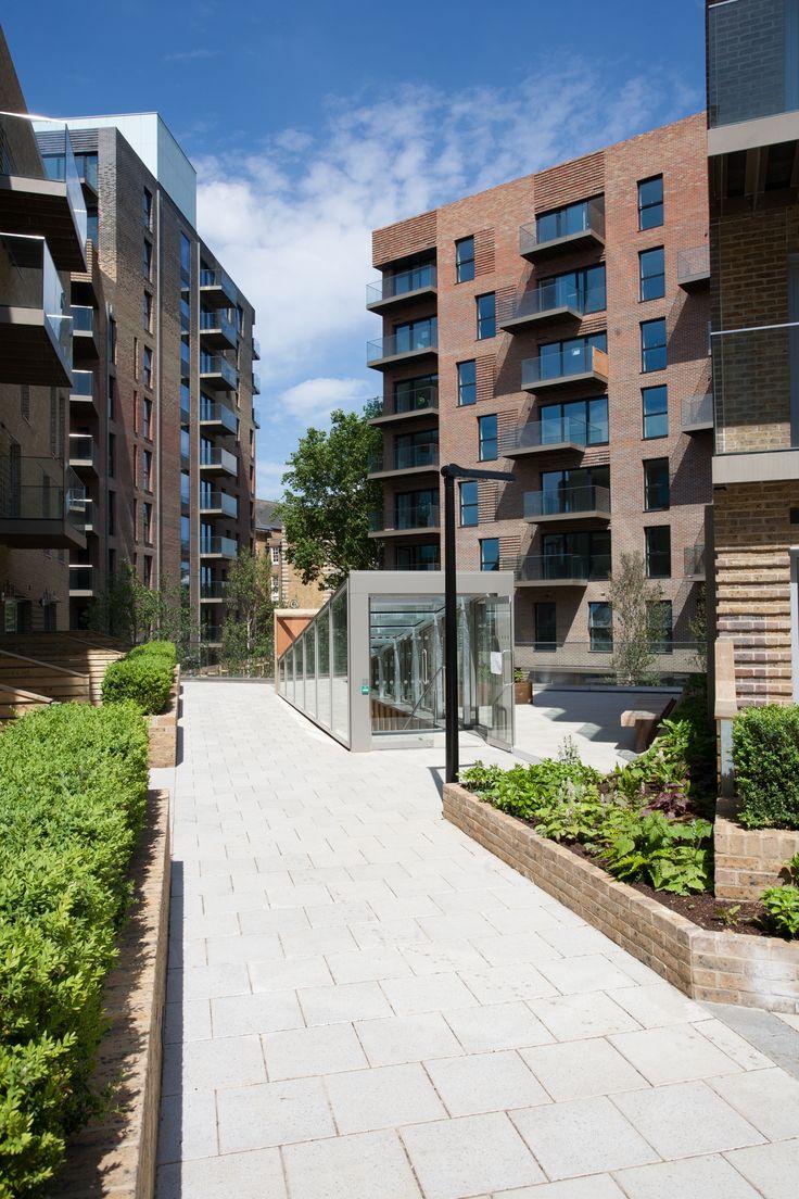 Best Housing Design Award Winner: Trafalgar Place. Best Urban Regeneration Project. Designed by DRMM Architects, brickwork by Lee Marley Brickwork Ltd, using Ibstock and Michelmersh bricks. #LoveBrick