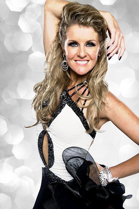Erin Boag on Strictly Come Dancing