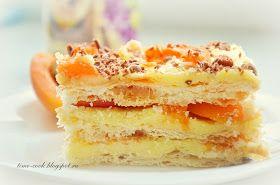 Очень легкий летний тортик. Его приготовление, хоть и длительно по времени (из-за охлаждения крема и пропитки), не потребует много усилий....