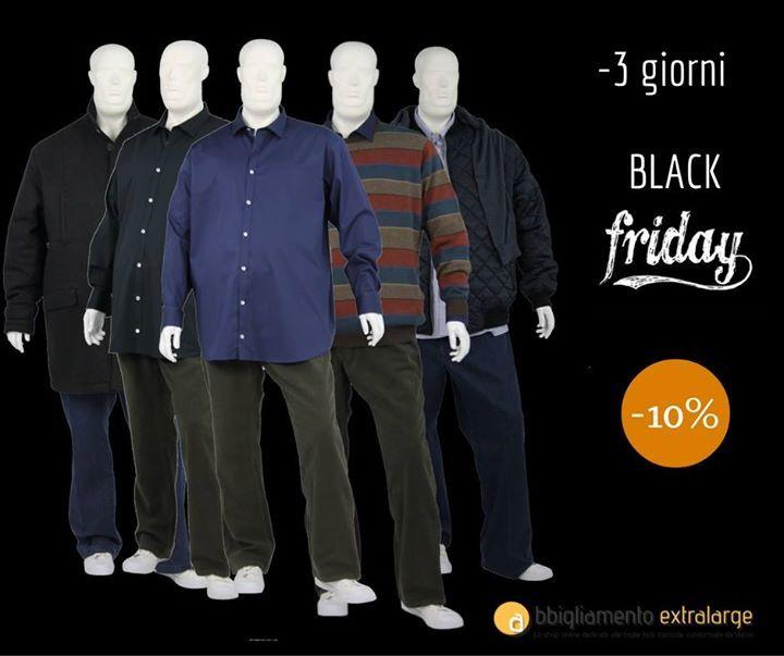 #blackfriday #modauomo #abbigliamentoextralarge  http://ift.tt/2cNy2ox
