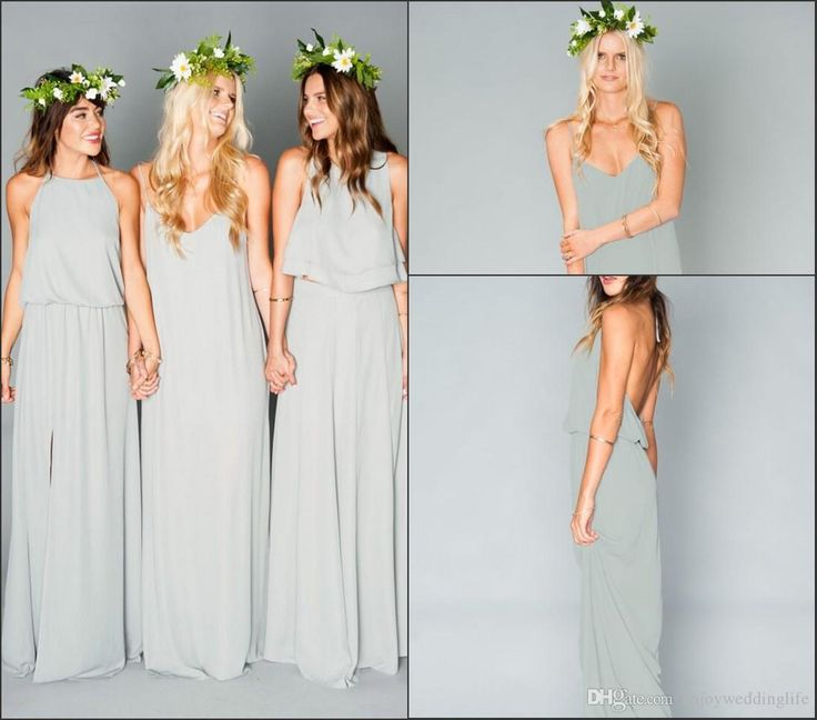 1000 ideas about bohemian bridesmaid dresses on pinterest for Bohemian wedding dress shops