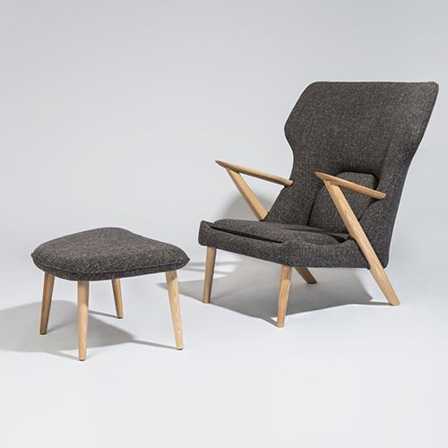 Aramis Armchair w/ottoman <br> Modern Classic Collection