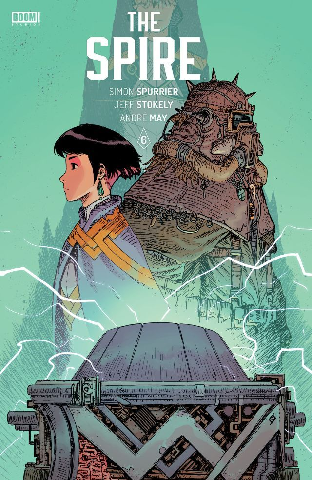 The Spire 6 Comics by comiXology A level art