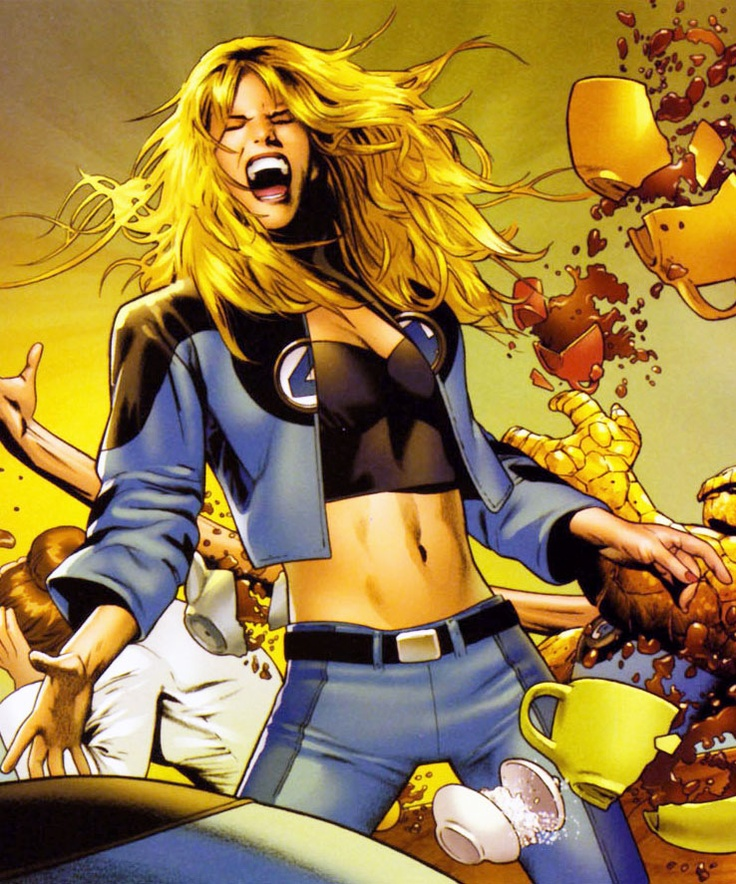 Invisible woman erotic