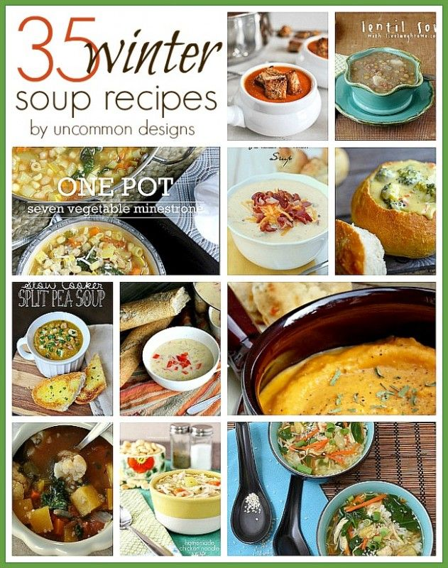 21 best images about soups on pinterest taco soup olive for Winter soup recipes easy