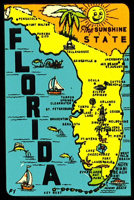 Florida The Sunshine State Via Roger Wilkerson