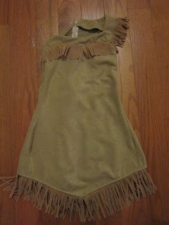 Disney Pocahontas costume with sewing tips, pattern advice