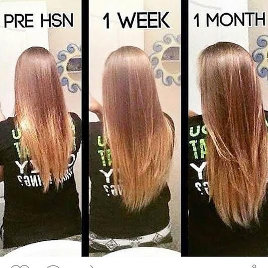 What exciting results after 1 month of taking It Works Hair Skin & Nails Longer healthier hair Call or text 520-840-8770 http://bodycontouringwrapsonline.com/hair-skinnails