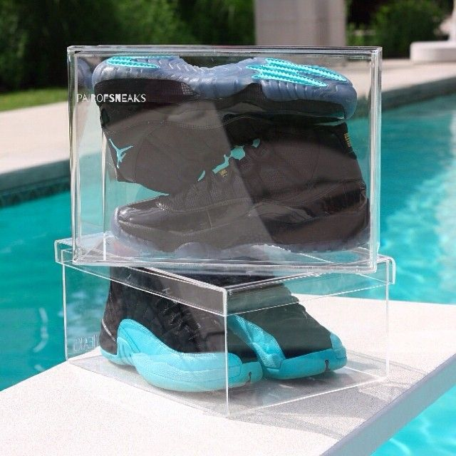 pairOFsneaks SneakerBox - Small | Sneaker Storage Made of Strong and Durable Clear Acrylic Plastic for Sneakerheads www.mpdacrylics.com