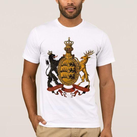 Wappen Deutsches Reich - Königreich Württemberg T-Shirt