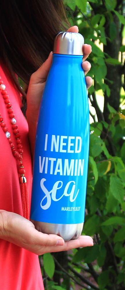 FREE Vitamin Sea Stainless Steel Water Bottle! Visit Marleylilly.com for details! Ends 5/14!