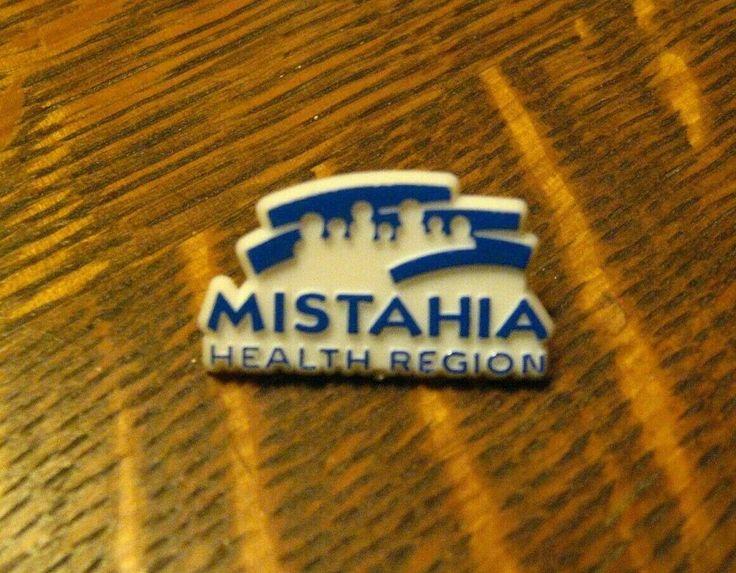 Mistahia health region canadian lapel pin vintage grand