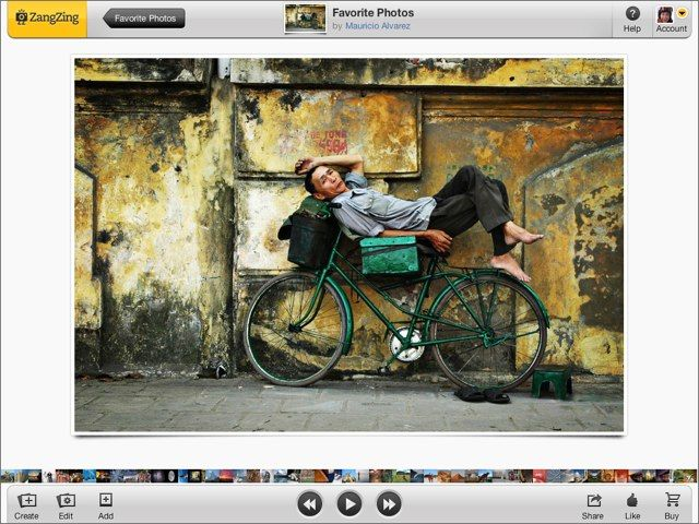 Creare photo album online