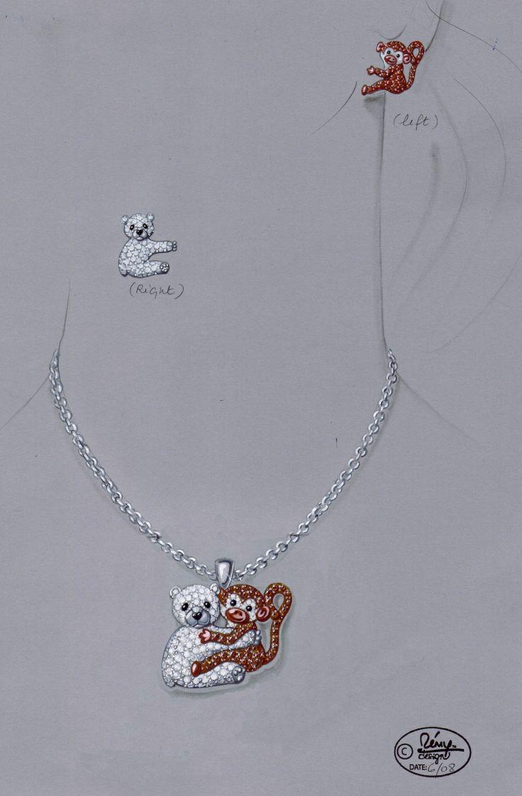 274 fantastiche immagini su disegni su pinterest for Design di gioielli