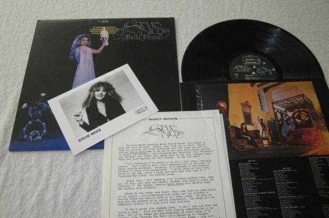 PROMO!!!!! STEVIE NICKS - BELLA DONNA - RARE PROMO VINYL LP w/PHOTO & BIO  http://www.ebay.com/itm/STEVIE-NICKS-BELLA-DONNA-RARE-PROMO-VINYL-LP-w-PHOTO-BIO-1981-MR-38-139-/201637555152  #stevienicks #belladonna #music #vinylrecords #recordcollector #ilovevinyl #vinylcollection #turntable #vinylhoarder #badasswomen #rockcandymusicebay #eighties