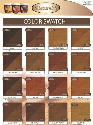 katalog warna biovarnsih wood stain #Biovarnish - #BiovarnishWoodFiller #BiovarnishWoodStain #BiovarnishClearCoat #pintu #kusen #trending #furniture #wooden #woodworking #kayu #mebel #catkayu #catkayuwaterbased #waterbased #cat #kayu #acrylicpaint #biovarnish #bioindustries #woodcraft #kursi #kayu #mebel #triplek