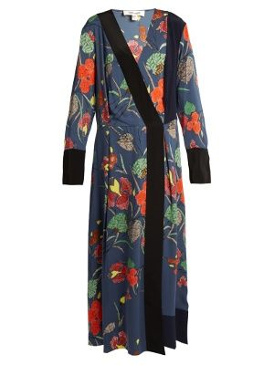 Ampère-print stretch-silk dress | Diane Von Furstenberg | MATCHESFASHION.COM