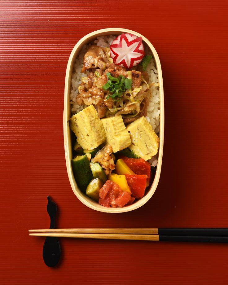 豚のピーナッツ味噌炒め弁当 / Peanut-Miso Pork Stir-Fry Bento お弁当を作ったら #edit_jp で投稿してね!