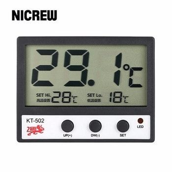 Nicrew LCD Digital display Home Fish Tank Aquarium Sensor automatic alarm Thermometer Wired Electronic Temperature Measurement http://ift.tt/2FNvJ1P #aquarium #fish #sell #cheap #cheapmonday #aquascape #tank #hobbies #cheaptoday #toys #shop #onlineshop #store #mall #animals #pet #pets #animal