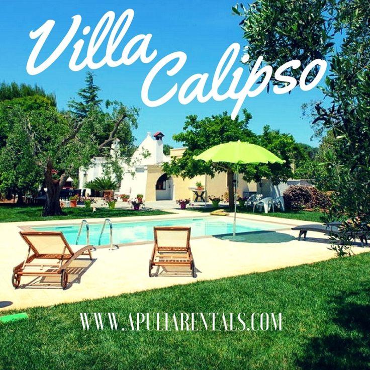 """Villa Calipso in Affitto con Piscina è una confortevole dimora, ubicata solo a 10km dalla famosa Ostuni, la """"Città Bianca"""". http://www.apuliarentals.com/italiano/ville-e-casali-in-affitto-puglia/villa-calipso-con-piscina/"""