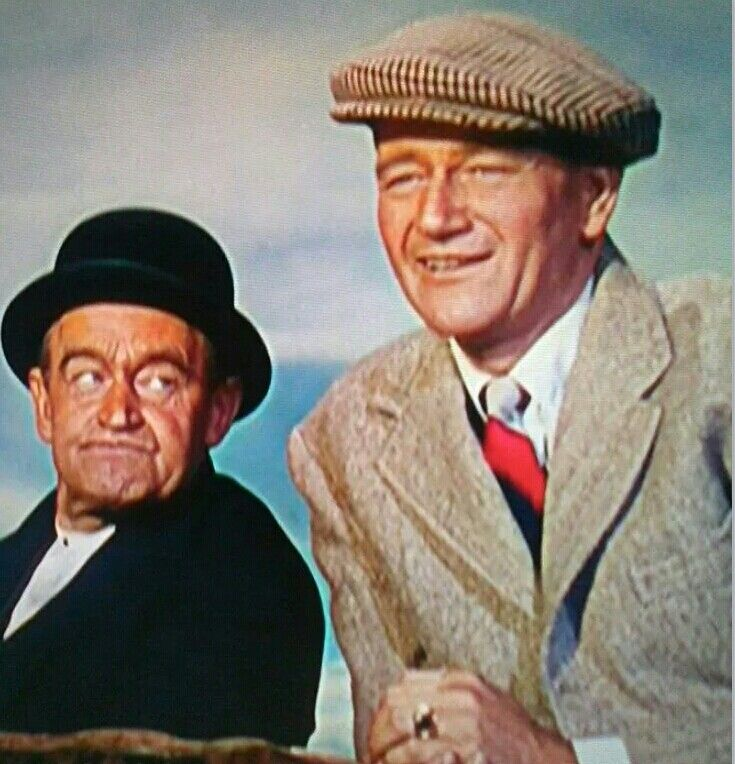John Wayne & Barry Fitzgerald in The Quiet Men