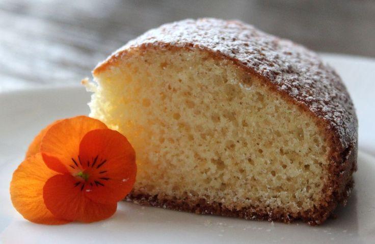 Saftig sockerkaka med vaniljsmak | Fridas bakblogg