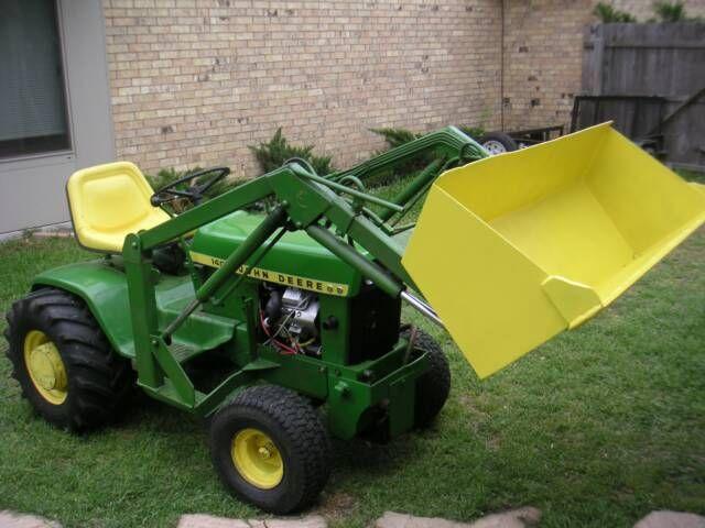 Antique John Deere Lawn Tractors : Best images about garden tractors on pinterest