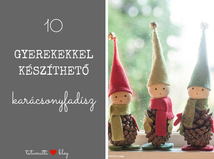 Tutumutti - Gyerekkel kreatívan blog / www.tutumutti.blog.hu / 10 gyerekekkel készíthető karácsonyfadísz / 10 DIY Ornaments that Can Be Prepared Together with Kids / DIY and Crafts